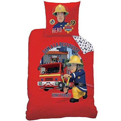 Lit pompier jusqu 40 promo black friday - Housse couette pompier ...