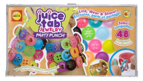 ALEX Toys Do-it-Yourself Wear Juice Tab Jewelry Party Punch