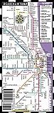 Streetwise Chicago Bus, CTA & Metra Map - Laminated Chicago Metro Map - Folding pocket & wallet size metro map for travel