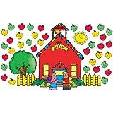 Carson Dellosa D.J. Inkers Schoolhouse Bulletin Board Set (610010)