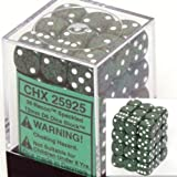Chessex Dice d6 Sets: Recon Speckled - 12mm Six Sided Die (36) Block of Dice by Chessex