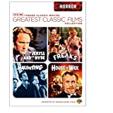 TCM Greatest Classic Films Collection: Horror (House of Wax 1953 / The Haunting 1963 / Freaks / Dr. Jekyll and Mr. Hyde 1941) ~ Vincent Price