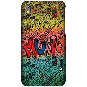Printland Designer Back Cover For HTC Desire 816G - Piano Cases Cover