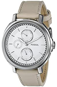Fossil Women's ES3521 Chelsey Analog Display Analog Quartz White Watch