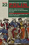 Polin: Studies in Polish Jewry, Volume 22: Social and Cultural Boundaries in Pre-Modern Poland