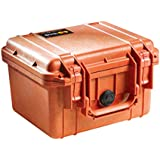 Pelican 1300 Case with Foam for Camera - Orange
