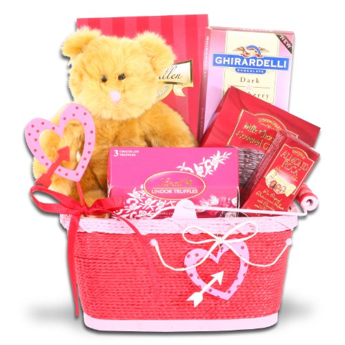 Be Mine Valentine Chocolate Gift Basket