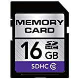 16GB/32GB SD SDHC Class 4/10 High Speed Memory Card for Canon EOS 600D Digital SLR Camera (16GB Class 10)