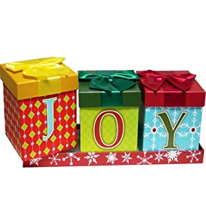 Joy To The Season Christmas Holiday Gift Box Set