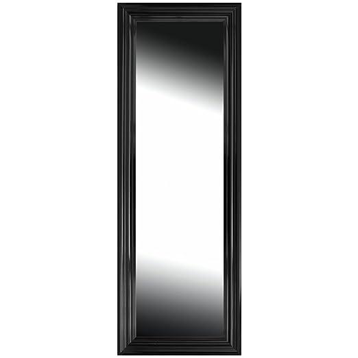 Brio 22541 miroir miroir duplex noir 40 x 140 cm for Miroir 40x140