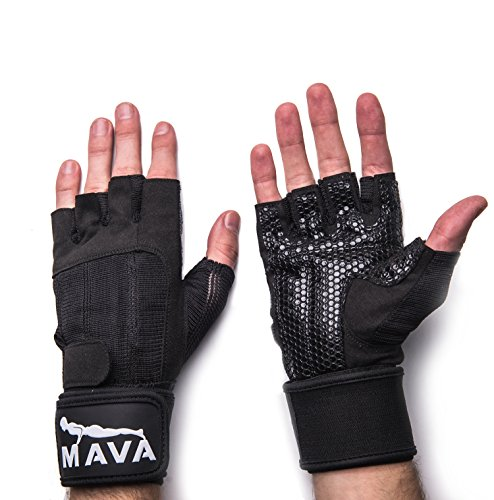 Mava Crossfit Gloves: Crossfit Gloves Deadlift Kettlebell