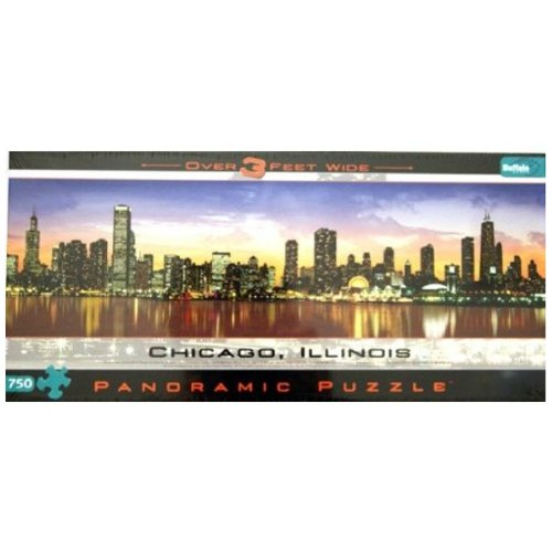 Cheap Buffalo Games Chicago 750 Pc Panoramic Jigsaw Puzzle (B002XZH580)