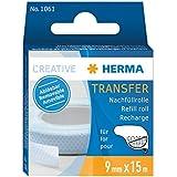 HERMA Nachfüllkassette für Kleberoller, ablösbar/1061 9mm x 15m