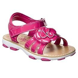 Product Image Toddler Girls' Circo® Jaela Strappy Flower Sandals - Pink Patent