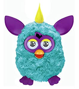 Furby mohicano verde - Mascota electrónica (habla español) (Hasbro A3124500)