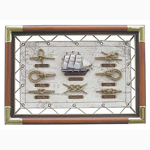 tabla-de-nodos-en-la-lona-gel-marino-con-nudo-marinero-ingles