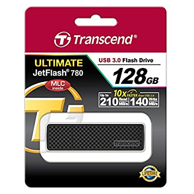Transcend 128GB JetFlash 780 USB 3.0 Flash Drive (TS128GJF780)
