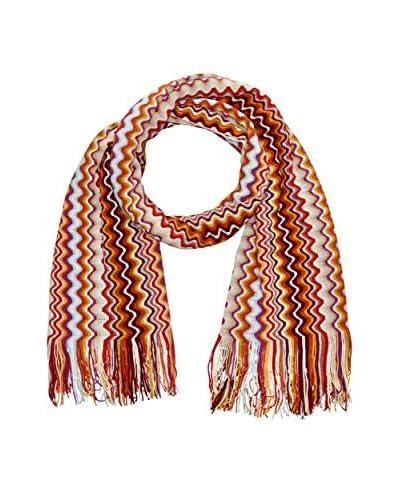 Missoni Wollschal orange/mehrfarbig