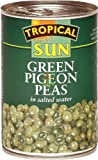 Tropical Sun Green Pigeon Peas425g