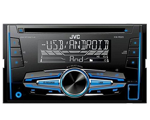 jvc-kw-r520-doppel-din-usb-cd-receiver-mit-front-aux-eingang-schwarz