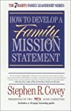 How to Develop A Family Mission Statement [Audio Cassette]