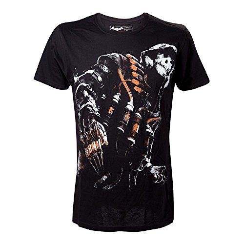 DC-Comics-Batman-Arkham-Caballero-Negro-Pesadilla-Espantapjaros-extra-grande-camiseta