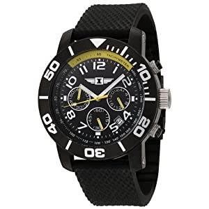 85% off I By Invicta Men's Chronograph Black Stainless Steel Rubber Watch #41701-001 513u9pQpbGL._SL500_AA300_