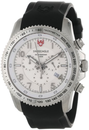 Swiss Eagle SE 9044-02 Landmaster chronograph Watch