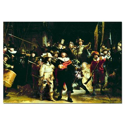 Cheap Educa Night Watch, Rembrandt Jigsaw Puzzle 1000pc (B000MRKMUY)