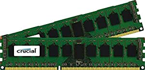 Crucial 16GB Kit (8GBx2) DDR3/DDR3L-1600MT/s (PC3-12800) DR