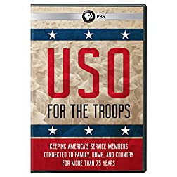 USO - For the Troops DVD