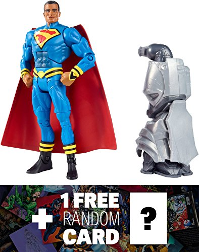 "Superman Earth 23: ~6"" DC Comics Multiverse Action Figure + 1 FREE Official DC Trading Card Bundle"