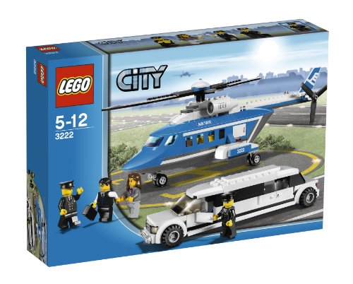 513uEzChdvL Cheap Buy  LEGO City Set #3222 Helicopter Limousine