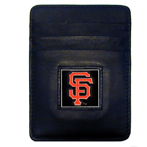 MLB San Francisco Giants Leather Money Clip/Cardholder