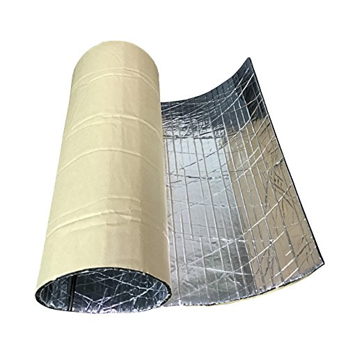 E Support™ 2 Roll Car Auto Van Sound Proofing Deadening Insulation 7mm Closed Cell Foam Glass Fibre 50 X 300 CM (Fibre Insulation compare prices)