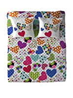 COSTURA Colcha Pop Heart (Multicolor)