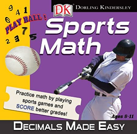 DK Sports Math: Decimals Made Easy
