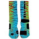 Just Sockz Men's KD Liger socks medium Green Blue