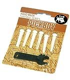 PICK BOY ( ピックボーイ ) BP-150BN / 牛骨 ブリッジピン/フォークピン アコギ用、汎用パーツ!ピン抜き付