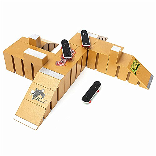 Skate Park Ramp Parts for Tech Deck Fingerboard Finger Board Ultimate Parks 92C (Aroma Ramp compare prices)