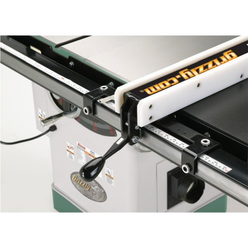 Grizzly g0691 cabinet table saw with long rails and riving for 10 dado blade for table saw