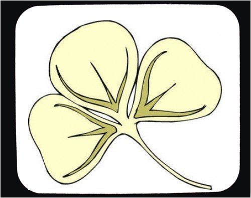 Mouse Pad with Ireland, Europe, shamrock, leaves, clover - Buy Mouse Pad with Ireland, Europe, shamrock, leaves, clover - Purchase Mouse Pad with Ireland, Europe, shamrock, leaves, clover (SHOPZEUS, Office Products, Categories, Office Supplies, Desk Accessories)