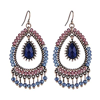 SunIfSnow Ruili Style Tassel Big Plexiglass Earrings