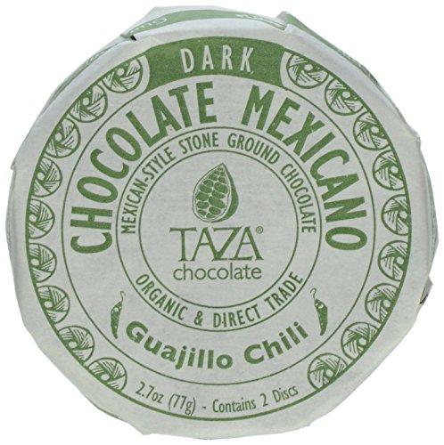 Taza Chocolate Mexicano Chocolate Disc, Guajillo Chili, 2.7 Ounce (Spicy Hot Chocolate compare prices)