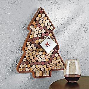 Wine Enthusiast Christmas Tree Wine Cork Kit