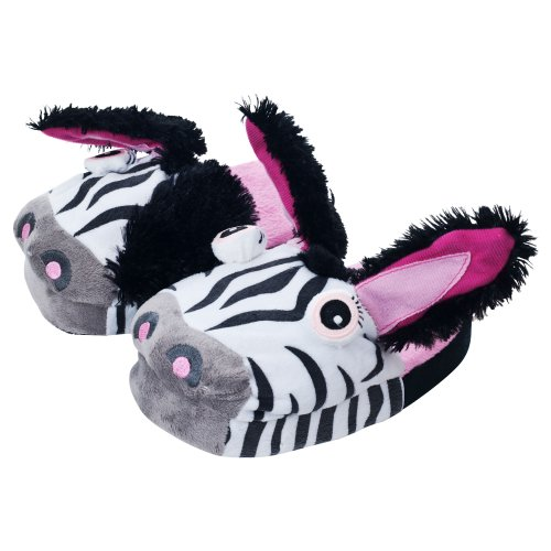 Silly Slippeez Zebra Plush, X-Small