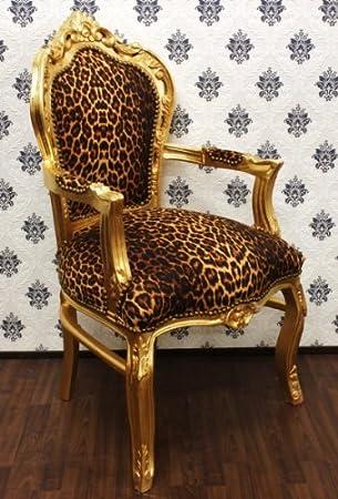 Barockstuhl Leopard und Gold Casa Padrino Kosten: 209,95 Euro via Amazon