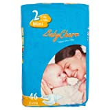 Babycharm Super Dry Flex Size 2 (6-13 lbs/3-6 kg) Nappies - 3 x Packs of 46�(138 Nappies)