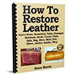 How to restore repair leather briefcase, book, couch, jacket