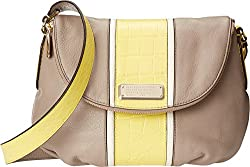 Marc by Marc Jacobs New Q Croc Striped Natasha Cross Body Bag